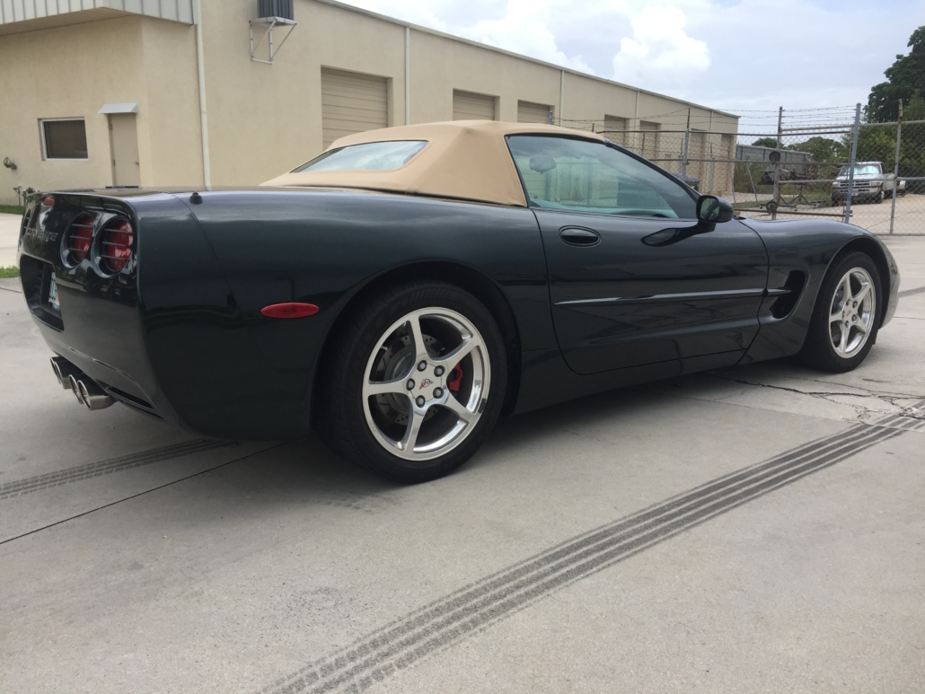 2000 Chevrolet Corvette Convertible - Grasso's Garage